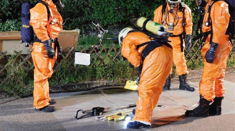 Angehörige finden radioaktives Material in Wohnung von Verstorbenem