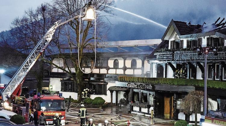 Nach dem Brand trauern Gourmets um den «Schwarzwaldhof»