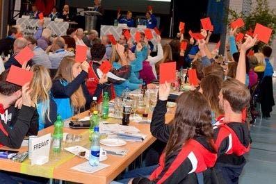 Knapp 300 Personen besuchten die 18. Delegiertenversammlung in Kleindöttingen. Gerry Frei