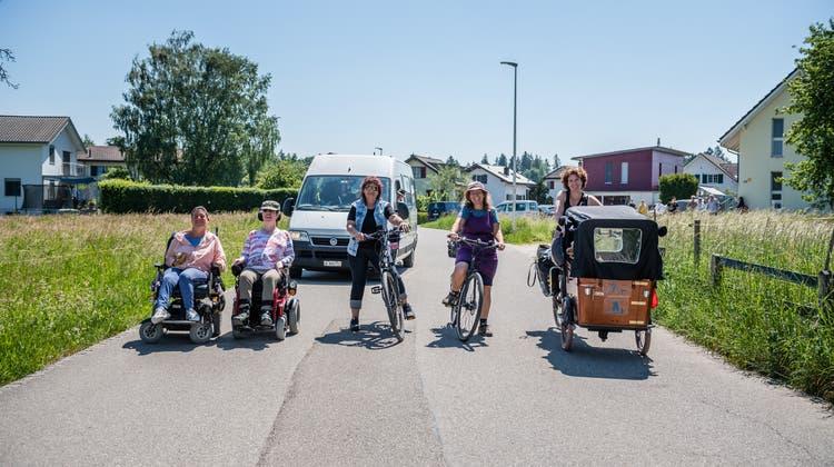 Recherswilerin startet Rollstuhl-Challenge – wegen Corona hat sich aber der Plan geändert