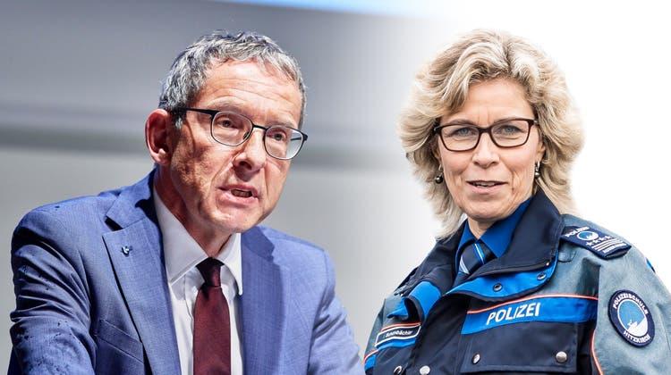 Urs Hofmann über das Leben und den tragischen Tod von Polizistin Irene Schönbächler