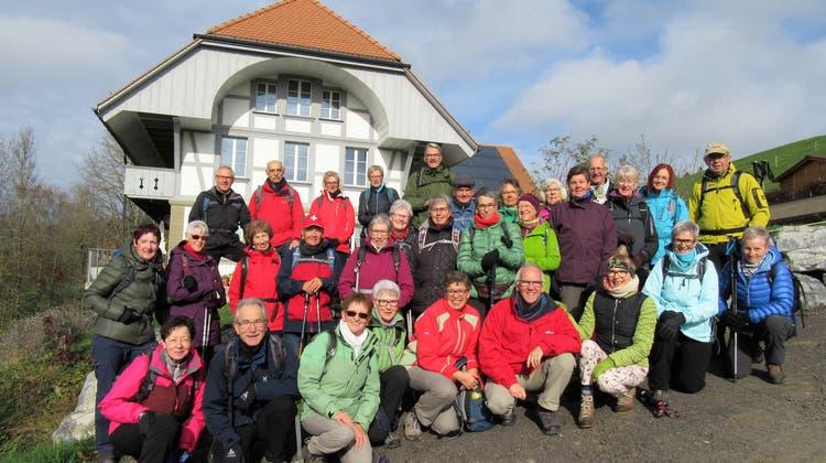 Bergwandergruppe Olten - Wanderung quer durchs Emmental