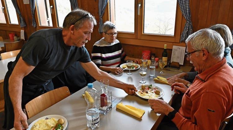 40 Kilogramm Käse für ein Wochenende: SAC-Wirtegruppe organisiert Raclette-Festessen