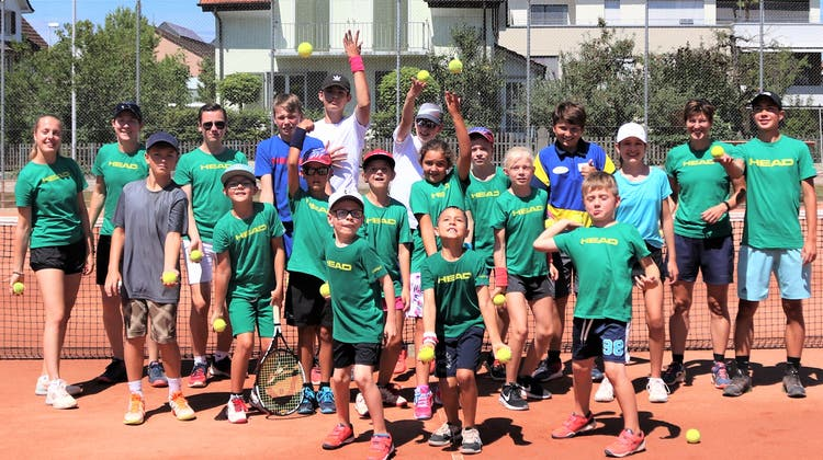Erfolgreiche Junioren-Tenniswoche des TC Bremgarten