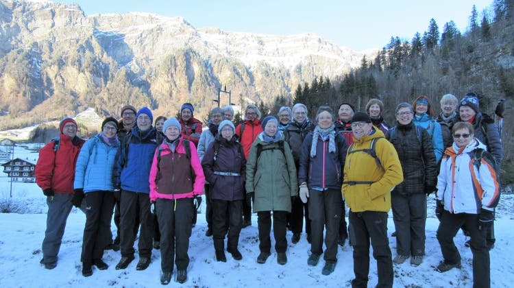 Bergwandergruppe Olten - Ausflug zur Husky Lodge in Muotathal