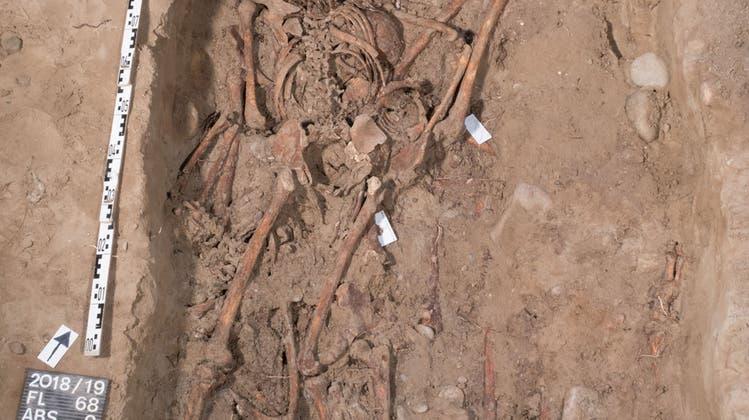 Grusliger Fund in der Basler Kaserne: 27 Skelette von jungen Männern aufgetaucht