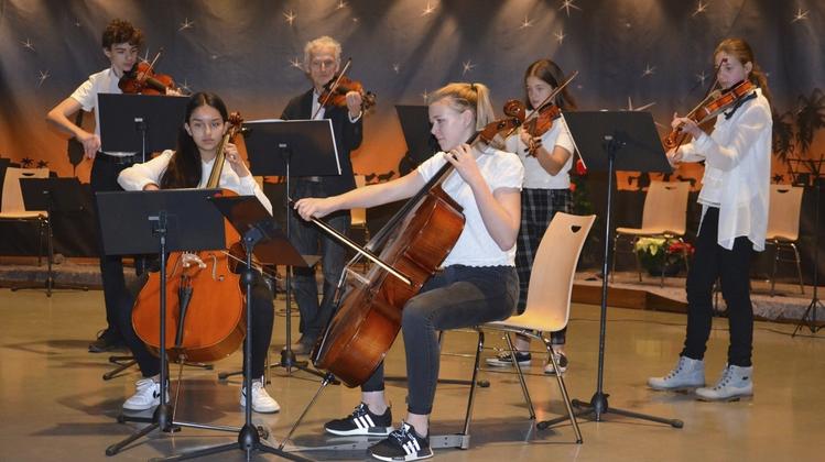 Weihnachtskonzert der Musikschule erwärmte die Herzen