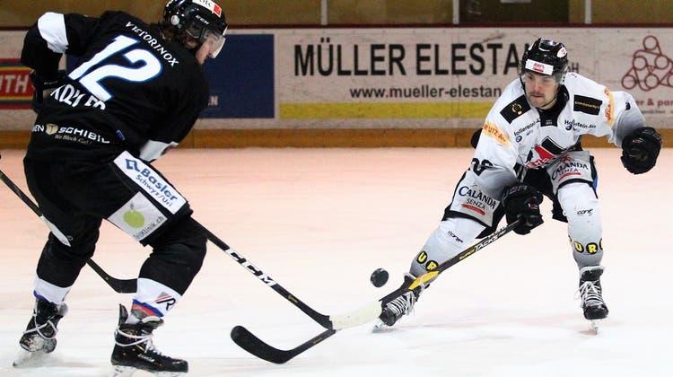Start missglückt: Der EHC Basel verliert zum Jahresauftakt in Seewen