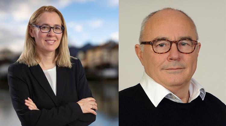 Andrea Büttiker und Markus Meyer sind Amtsrichter