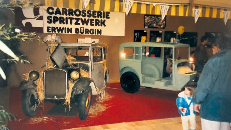 Restauration eines BMW aus der Vorkriegszeit