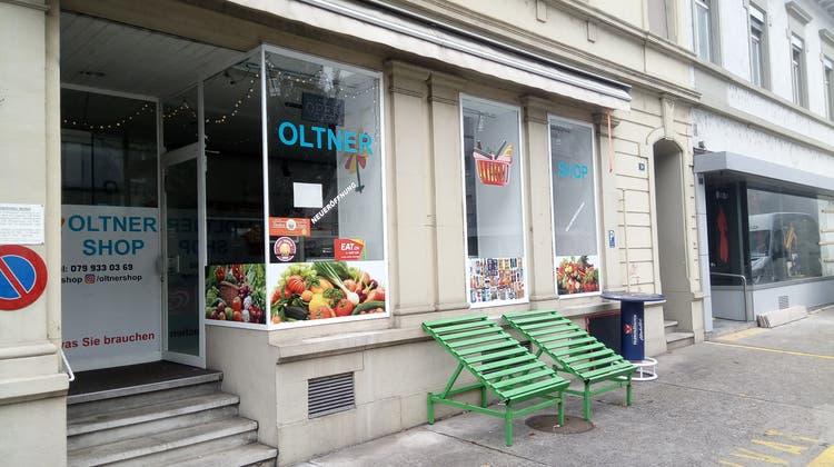 Quartierladen Oltner Shop geht nach weniger als einem Jahr zu