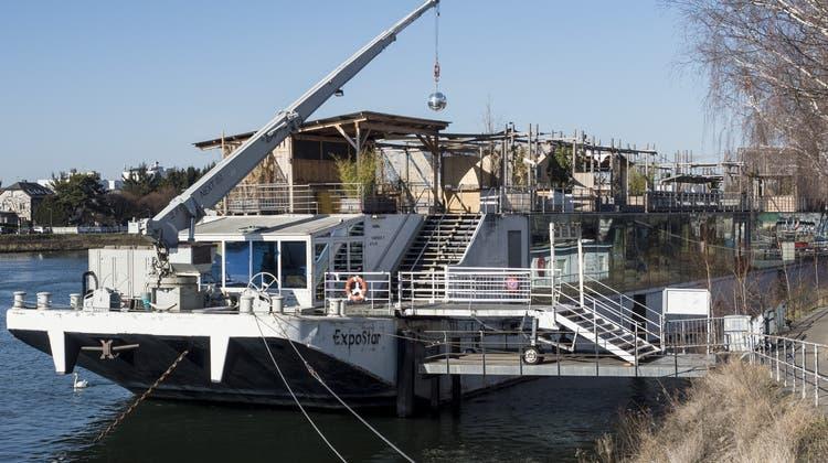 Erneut Trauerspiel um Basler Party-Schiff: Offene Rechnungen und Pächter ist Konkurs