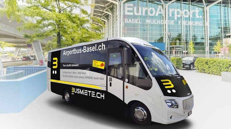 Neuer Bus verbindet Euro Airport mit Kleinbasler Messe-Hotels