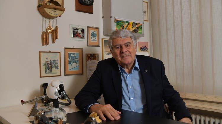 Der Geschichtenerzähler im Portrait: Felix W. Eymann beendet dieses Jahr seine politische Karriere