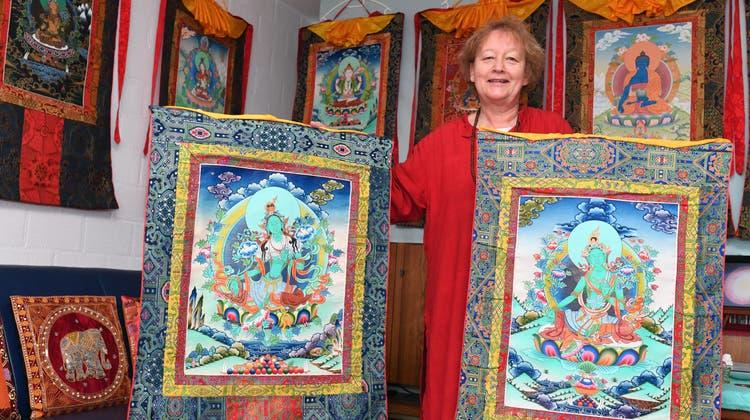 Das Herz der Oensinger Flüchtlingsmama gehört der tibetanischen Kultur