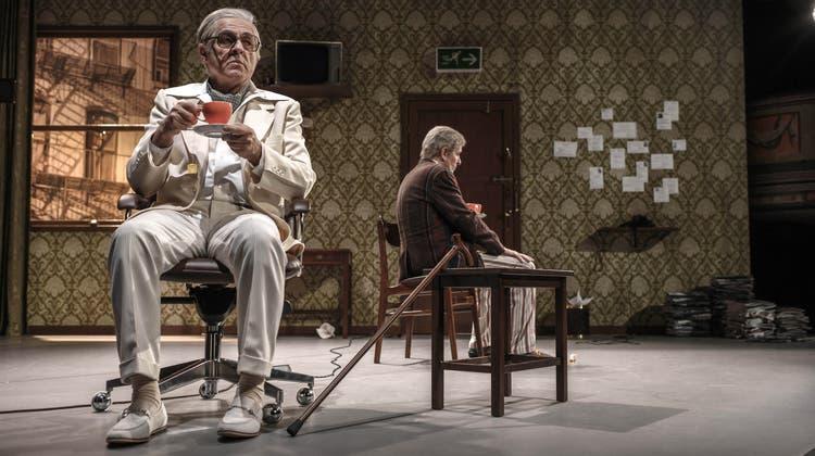 Anspruchsvolle Inszenierung: «The Sonny Boys» feiert Premiere im Stadttheater