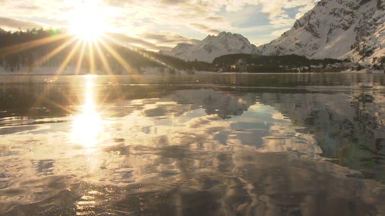 Mysteriöse Klänge unter dem Eis: Der Silsersee singt