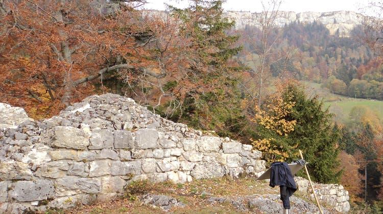 Burg Grenchen kann besichtigt werden