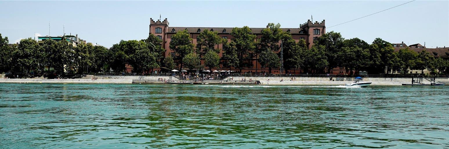 So sah die Kaserne Basel vor der Sanierung und dem Umbau aus.