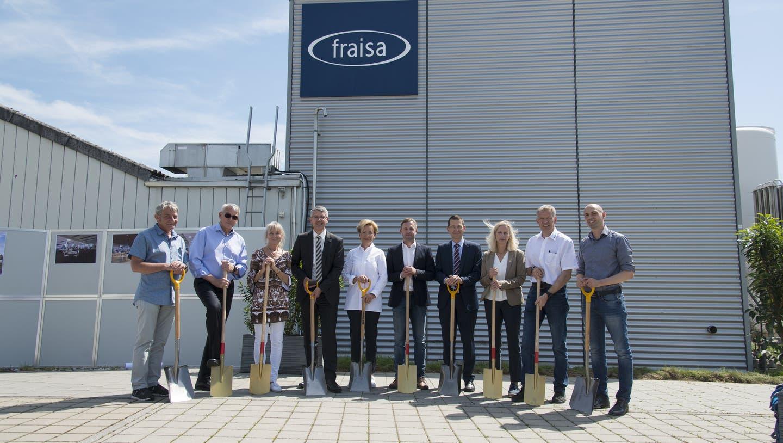 Neubau läutet das Ende der Schichtarbeit für Fraisa-Mitarbeiter ein