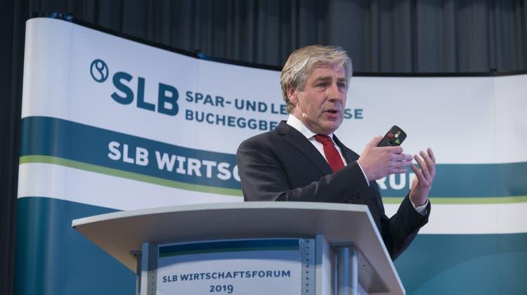 Zum dritten Mal ging das Wirtschaftsforum der Spar- und Leihkasse Bucheggberg über die Bühne