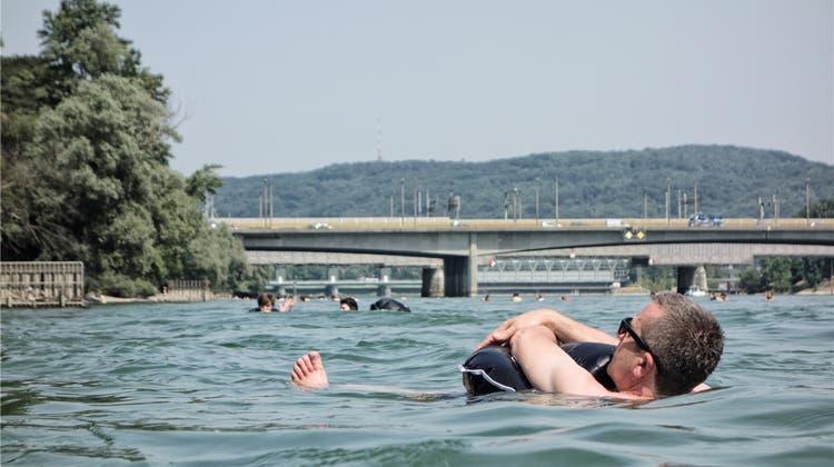 Wegen Strömung: Fachleute warnen vor dem «Schwumm» im Rhein – das ist die gefährlichste Stelle