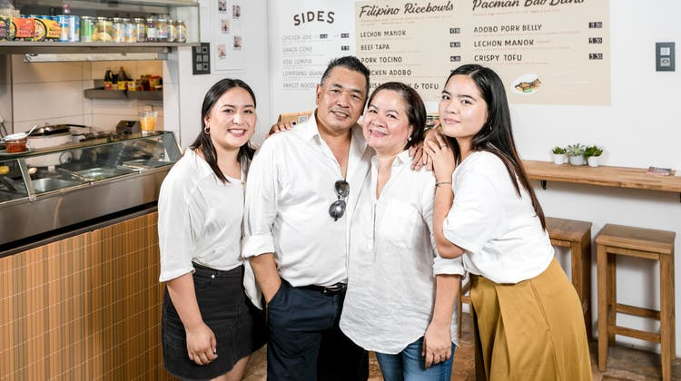 Senkrechter Start für Filipino-Food in der Weiten Gasse