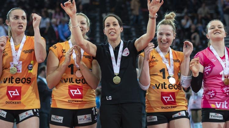 Mehr als nur der Spassvogel: Sarah Trösch und ihre Erlebnisse an der Volleyball-Europameisterschaft
