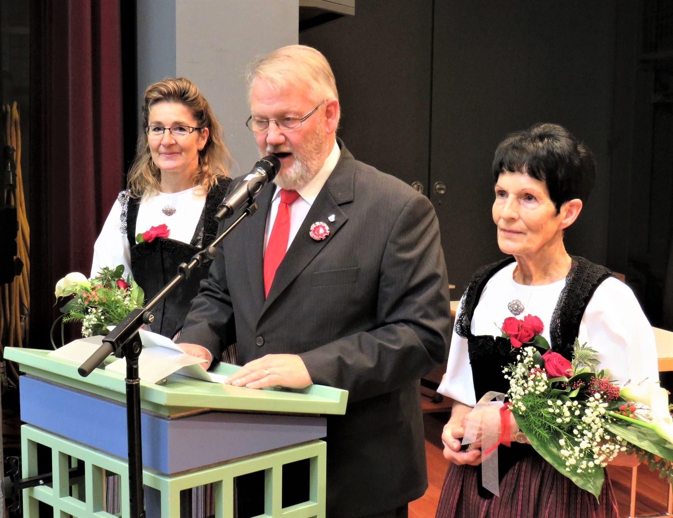 Gelungener Erstauftritt des SOSV-Präsidenten Jürg Dietschi