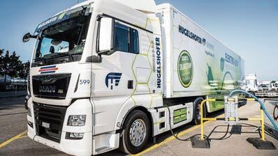 Ostschweizer Transportunternehmen üben für den emissionsarmen Güterverkehr