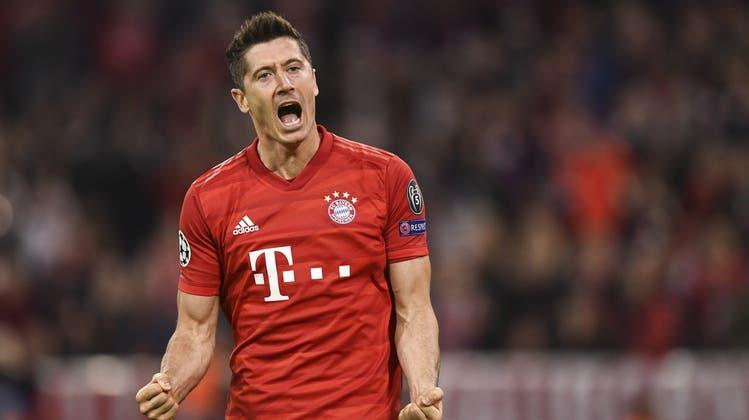 Tottenham wird von den Bayern zerzaust und geht mit 2:7 unter ++ Siege für Juve, City und PSG