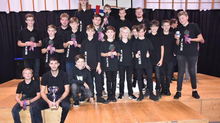 Die Trommelschule Solothurn wird zum fünften Mal in Folge Kantonalbernischer Meister