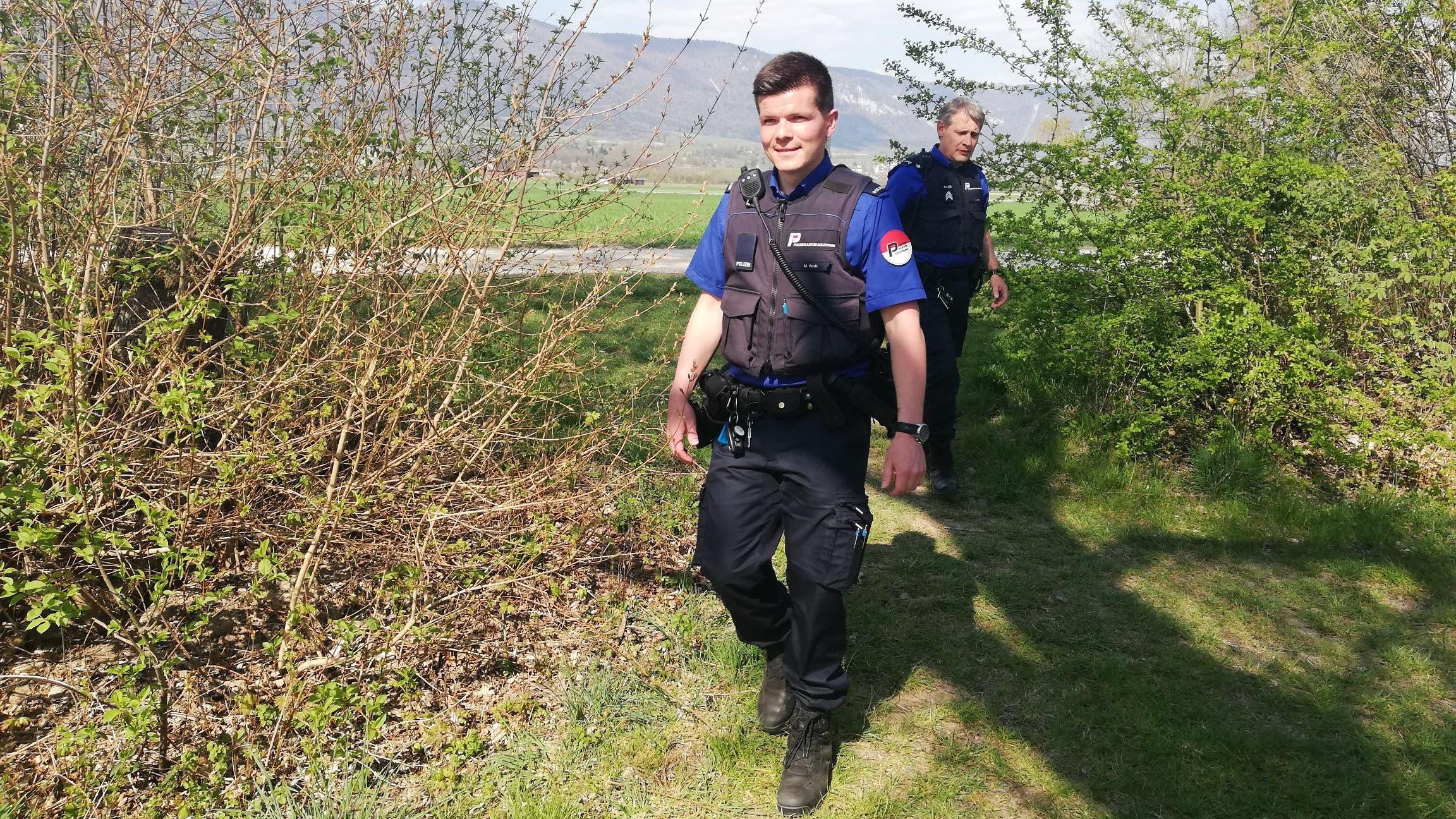 Die Kantonspolizei Solothurn im Einsatz zu Coronazeiten.