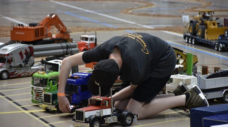 «In diesem Jahr haben wir Vollgas gegeben» – kleine Trucks füllen die Doppelturnhalle