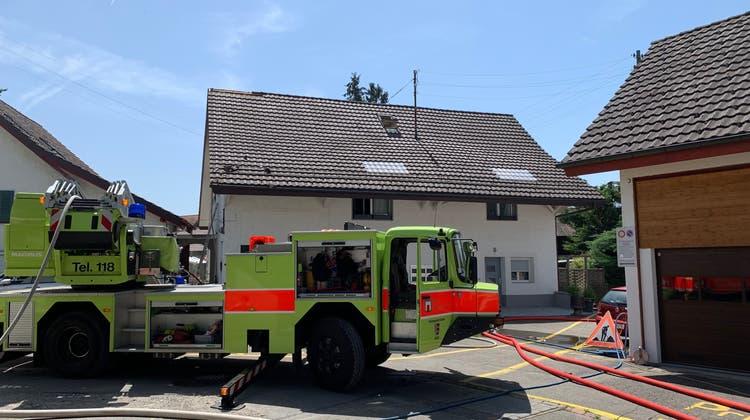 Brand in Mehrfamilienhaus: Ein Verletzter und 200'000 Sachschaden