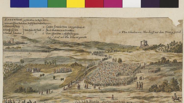 Vor 200 Jahren: Als in Basel zum letzten Mal die Köpfe rollten