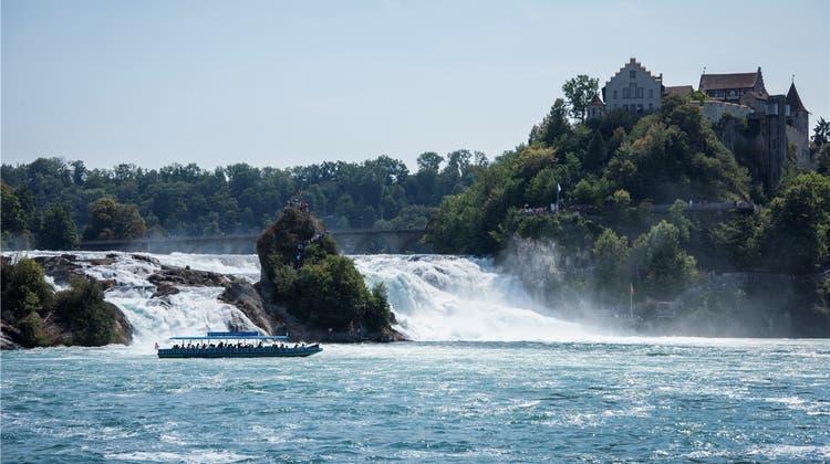 So will der Kanton Zürich den Rheinfall für Touristen attraktiver erschliessen