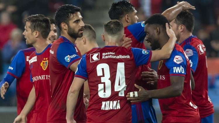 Ein Eigentor leitet den FCB-Sieg ein: Das sind die Highlights zum 3:1-Heimsieg gegen den FC Thun