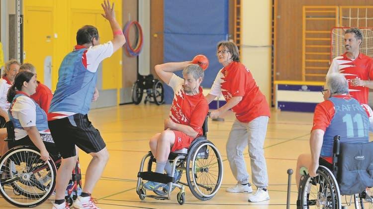 Die Ballsportart für Rollstuhlfahrer vermag auch Solothurner zu faszinieren