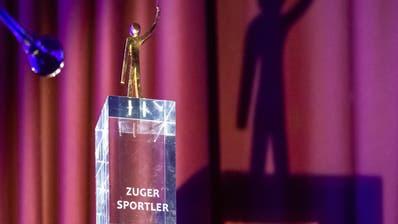 Der Pokal für den Sportler des Jahres 2019. Bild: Christian H. Hildebrand, Zuger Zeitung (Oberägeri, 31. Januar 2020) (Christian Herbert Hildebrand, Zuger Zeitung / Zuger Zeitung, Christian H. Hild)