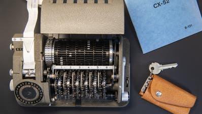 Die Maschinen der Zuger Firma Crypto liessen eine Hintertüre offen für die Geheimdienste CIA und BND. (Ennio Leanza/Keystone)