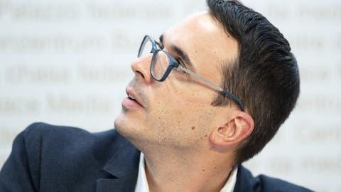 Stefan Kuster vom Bundesamt für Gesundheit: «Für eine Prognose, wann in der Schweiz ein sicherer Impfstoff zur Verfügung stehe, ist es noch viel zu früh.» (Peter Schneider / Keystone)