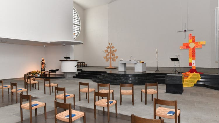 «Innerhalb von zwei Jahren fertig gebaut»: Seit 80 Jahre ist die Kirche Mariä Himmelfahrt ein Teil des Dorfes