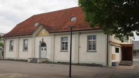 Die alte Turnhalle ist denkmalgeschützt und soll einer neuen Bestimmung zugeführt werden. (Bild: PD)