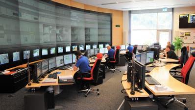 Gibt es bald gemeinsame Einsatzzentralen? Im Bild: Zentrale in Flüelen der Kantonspolizei Uri (Bild: PD)