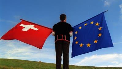 Wie weiter mit den Beziehungen Schweiz – EU? (Martin Ruetschi/ Keystone)