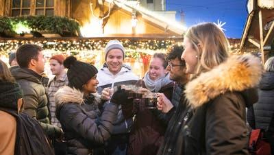 Eine Szene, die es dieses Jahr in St. Gallen nicht geben wird. (Bild: Ralph Ribi (9. Dezember 2019))