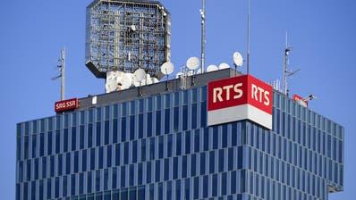 Belästigungs- und Mobbingaffäre: Das Westschweizer Fernsehen (RTS) steht nun auch politisch unter Druck. (Keystone)
