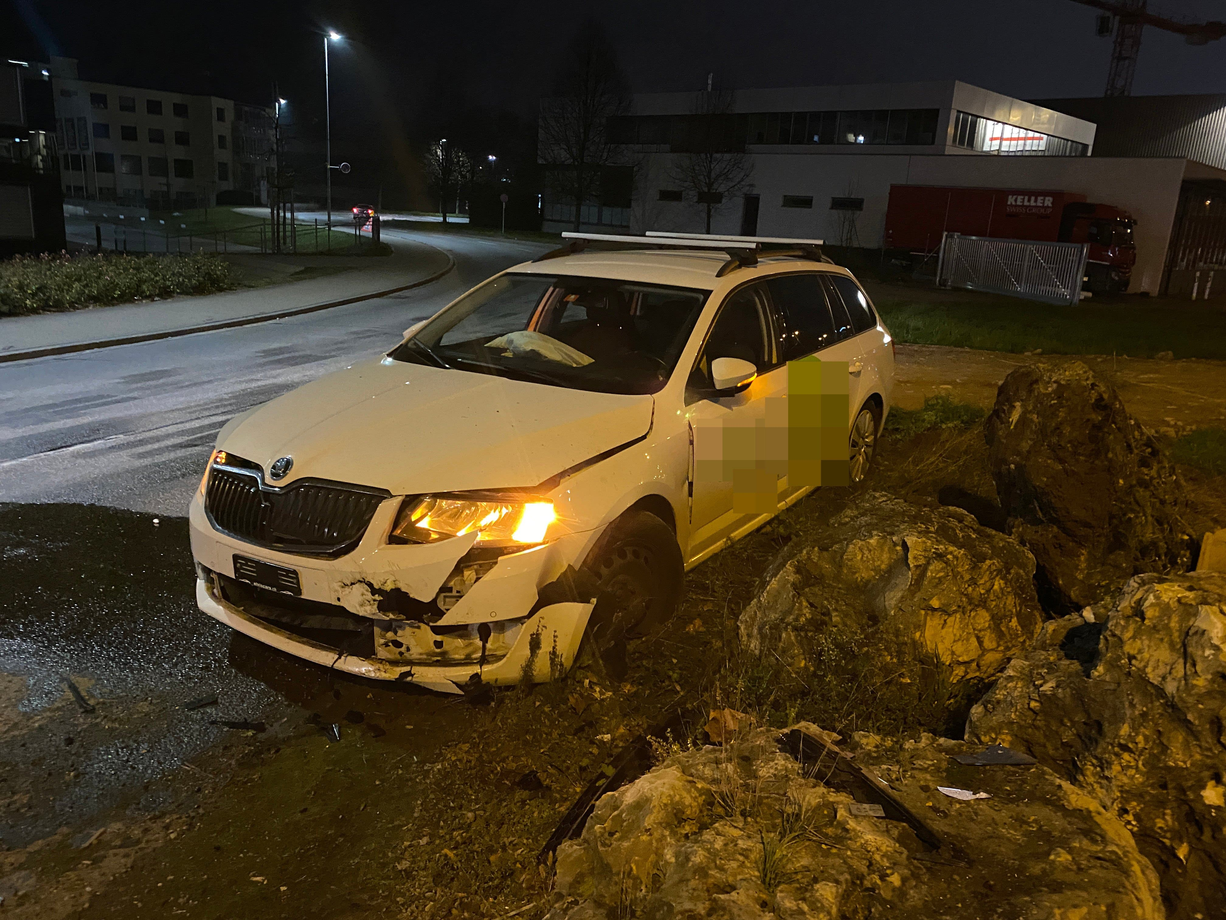 Unfall in Spreitenbach (November 2020)