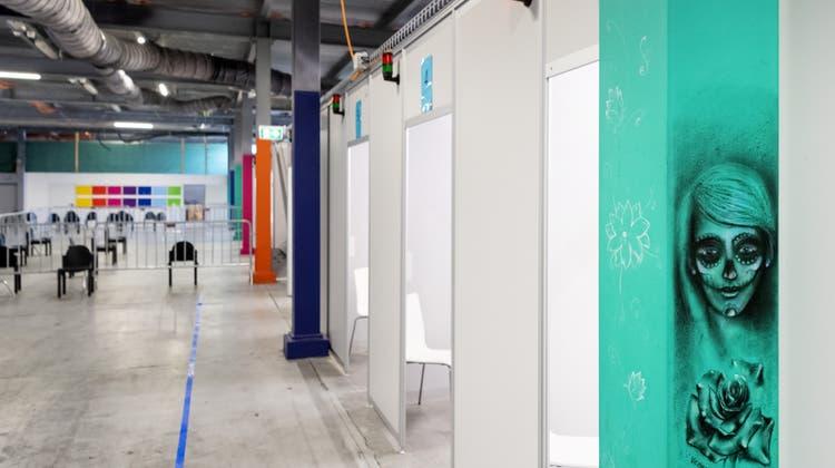 Einblicke in die Baselbieter Corona-Teststation in Muttenz – der neue Standort soll der letzte sein